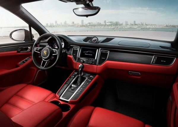 2015 Porsche Macan Amazing Dashboard Interior 600x427 2015 Porsche Macan Full Reviews with Images