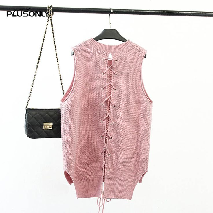 >> Click to Buy << Pink Vests Women New Spring Style Casual Round Neck Sleeveless Knitting Vest Blue Gray KK2750 #Affiliate
