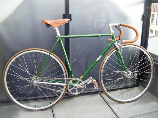 Image result for green cinelli supercorsa