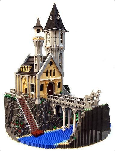 Gorgeous castle from Rebrick site