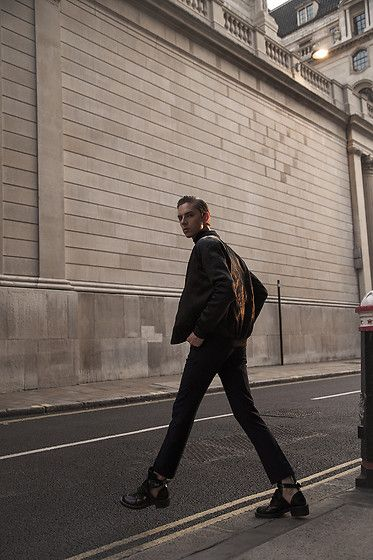 Get this look: http://lb.nu/look/8389765  More looks by Mikko Puttonen: http://lb.nu/mikkoputtonen  Items in this look:  Topman Jacket, Topman Trousers   #chic #classic #minimal