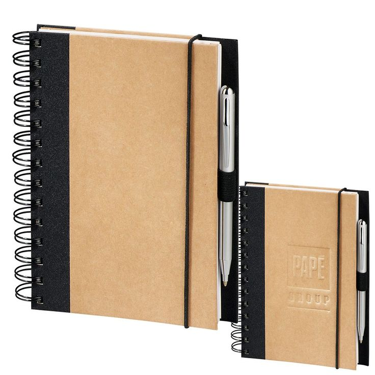 Includes 100 sheets of lined recycled paper JournalBook with recycling symbol printed on each page. Elastic pen loop. Elastic closure. Includes important contacts page and 3-year calendar.