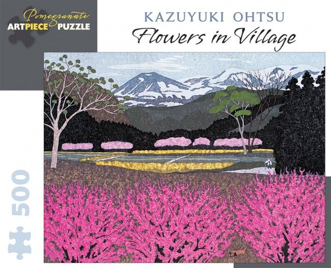 Photo Pomegranate AA943 - Ohtsu: Flowers in Village - 500 pieces jigsaw puzzle 1