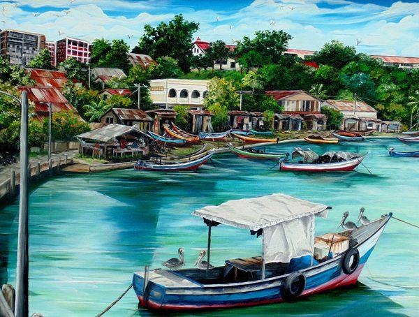 Sanfernando Wharf By Karin Dawn Kelshall Best