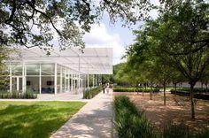 Gallery - Brochstein Pavilion / The Office of James Burnett + Thomas Phifer & Partners - 1 luifel tuin terras omgevingsaanleg pad landschap