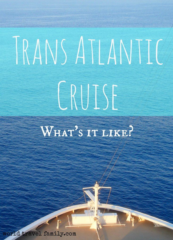 What is a Trans Atlantic Cruise Like? Report from our first cruise on Norwegian Getaway. So what is it like to cross the Atlantic on a cruise ship?