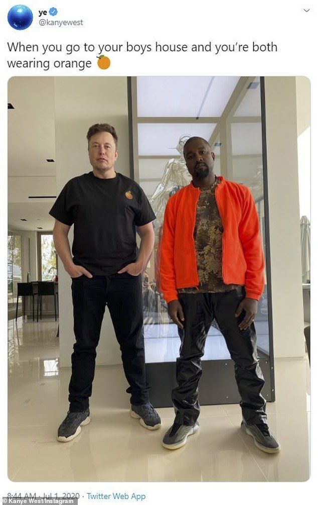 Kim Kardashian Appears To Endorse Kanye S Run For President After Tweeting The Us Flag Daily Mail Online In 2020 Kanye West Kanye Sneakers Fashion Outfits