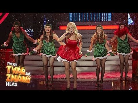 "Marta Jandová jako Mariah Carey - ""All I Want For Christmas Is You"" 