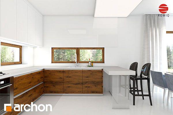 Dom w amarantusach ver. 2 on Behance Dom jednorodzinny parterowy. Do dyspozycji użytkownika 4 pokoje, kuchnia, 2 łazienki, jadalnia, toaleta, kotłownia, pralnia, garderoby, pomieszczenie gospodarcze, kominek, garaż.