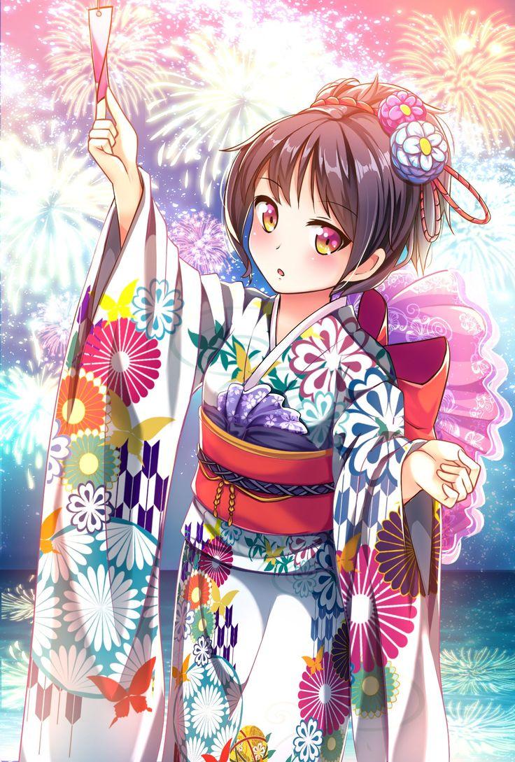 Best 25+ Anime Kimono Ideas On Pinterest