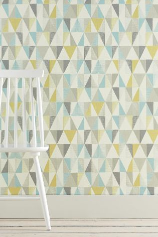 Next Geo Wallpaper, just what I need for a wall in the kitchen.