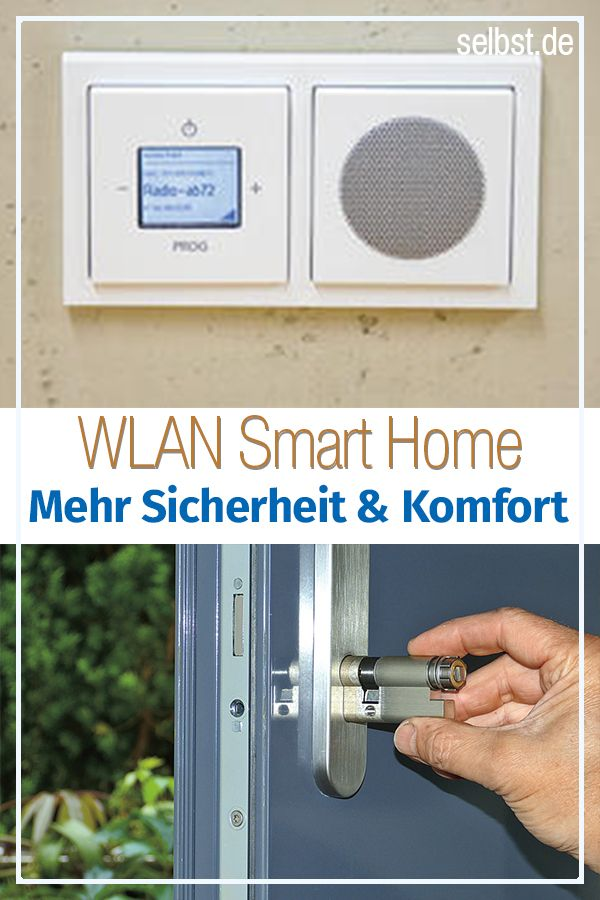 Smart Home Per Wlan Hausautomation Wlan Home Security
