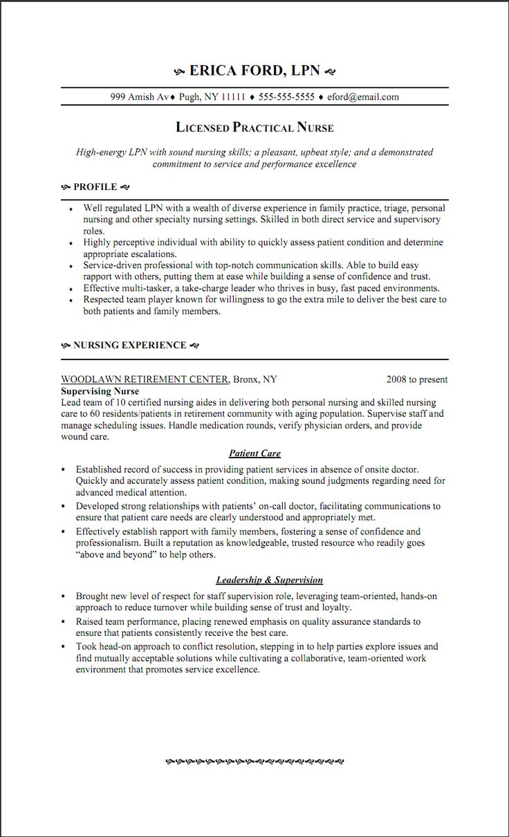 The 25+ Best Nursing Resume Examples Ideas On Pinterest | Rn Resume,  Registered Nurse Resume And Nursing Resume  Resume Objective For Nursing