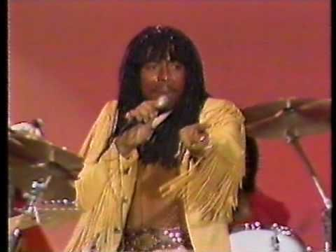 Rick James - Super Freak (1982) One of my favorites!  Thanks to my Aunt Johnita!