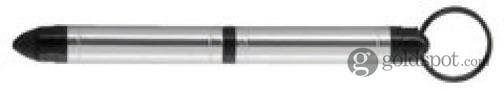 Fisher Tough - TT Silver Space Pen with Stylus, Keyring and Carabiner