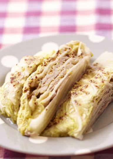 白菜と豚肉のミルフィーユ仕立て のレシピ・作り方 │ABCクッキング ... 材料(2人分)
