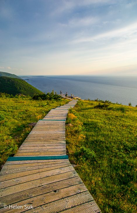 Breathtaking scenery on the Cabot Trail, Nova Scotia.