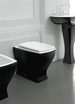 White Toilet With Black Seat. Lulu Coloured Back to Wall Bathroom Toilet with Soft Closing Seat  25B The 25 best Black toilet seats ideas on Pinterest Sweet home