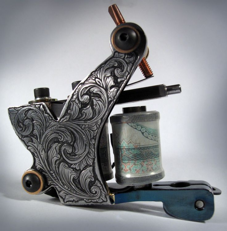 handmade tattoo machine by tim hendricks