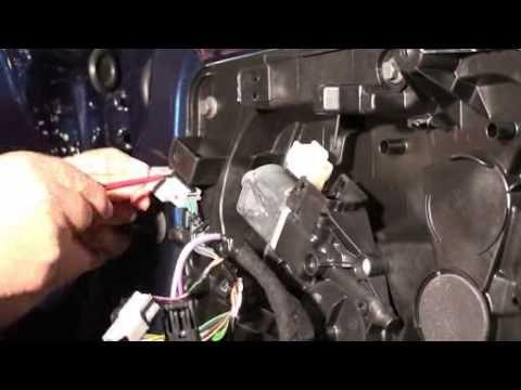 Ford Fiesta, Fensterheber ausbauen, so wird´s gemacht Replace window reg...