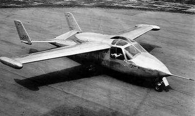 Miles M.100 Student (1957) jet trainer Just one prototype ...