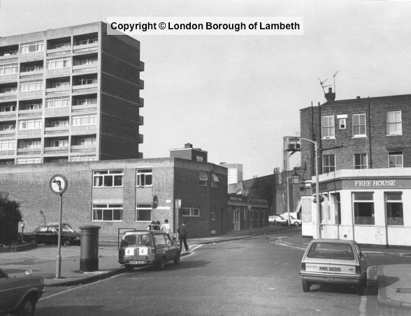 Carlisle Lane, Lambeth 1985