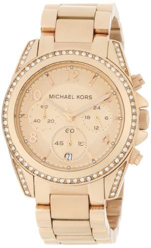 Michael Kors Watches Michael Kors Ladies Rose Gold Blair (Rose Gold) $207.94