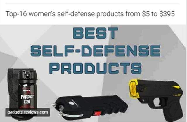 https://gadgets-reviews.com/review/220-16-best-self-defense-products.html | Top-16 women's self-defense products from $5 to $395 - Offers latest gadget reviews, latest consumer electronics, technology news, portable devices, gaming accessories and consoles reviews