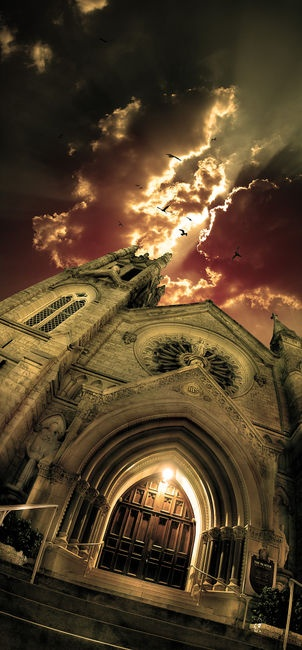 Church: Urban Photography, Favorite Places, Eric Gustafson, Night Photography, Austin Texas, Beautiful, Old Church, Gothic Architecture, Austin Tx
