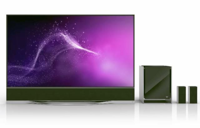 Vizio Enters The 4K Ultra HD High-End With New R-Series: Vizio Reference Series RS65 4K Ultra HD TV with Sound System