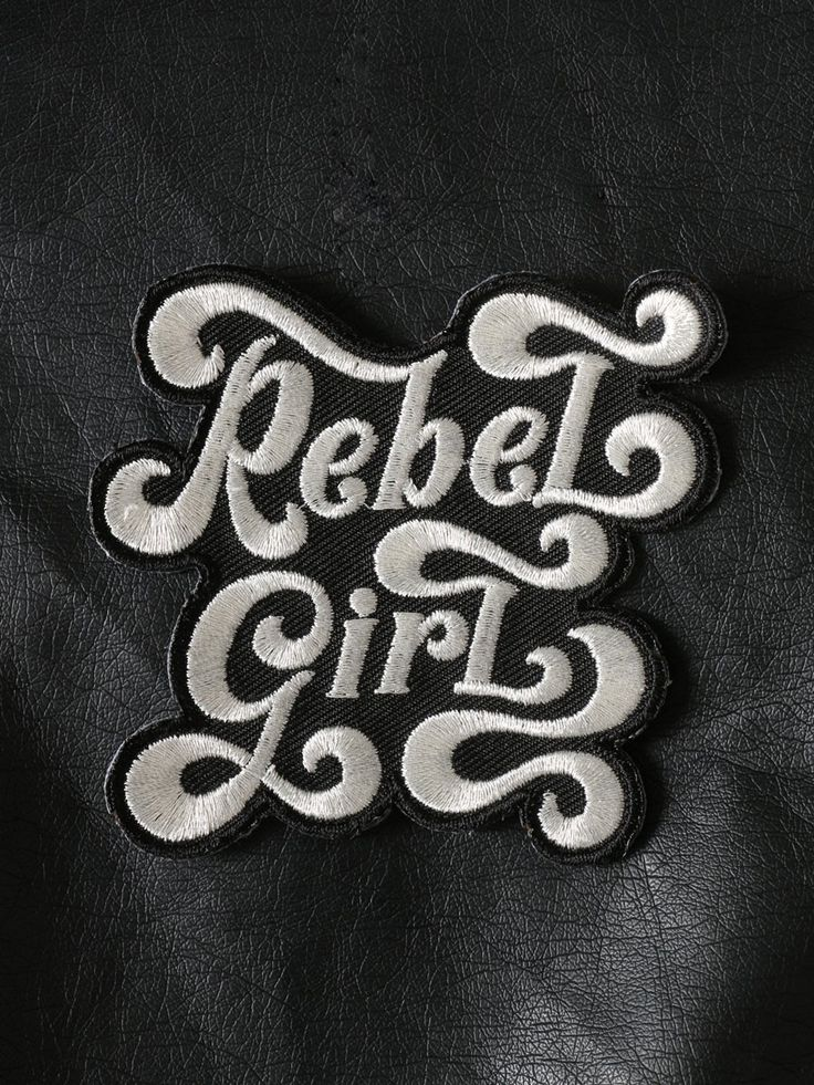 Rebel Girl Patch - Gypsy Warrior