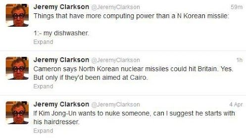 Jeremy Clarkson on North Korea #CarMemes #LOL