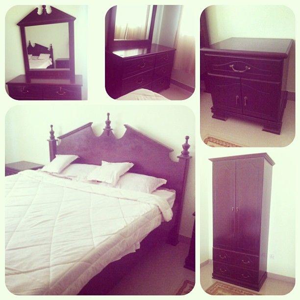 للبيع غرفة نوم استايل أمريكي لون بني غامق بحالة ممتازة مع الماترس السعر 240 Bd Home Decor Furniture Home