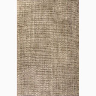 Handmade Taupe/ Tan Jute Natural Rug (9 x 12) - Overstock™ Shopping - Great Deals on 7x9 - 10x14 Rugs