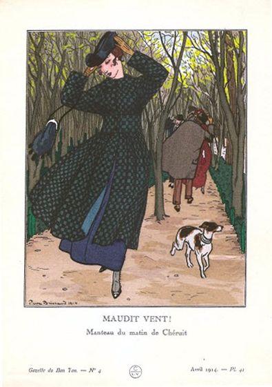 Fashion by Madeleine Chéruit - morning coat 1913