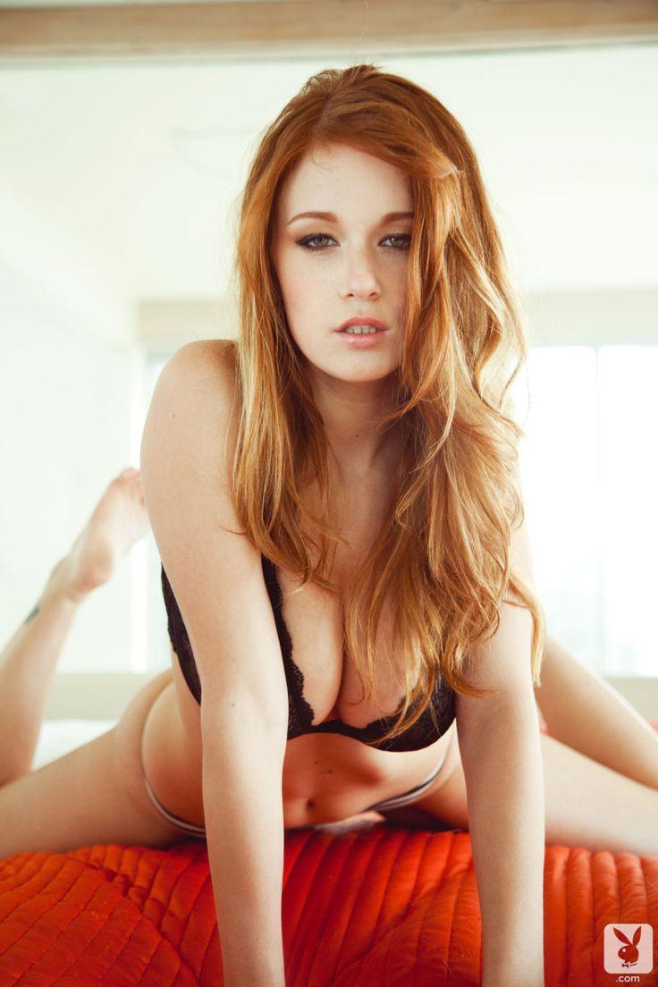 Hot Pale Redhead 68