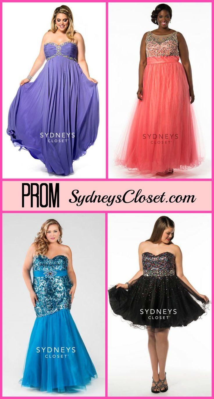 Sydney's Closet Plus Size Prom Dresses are Gorgeous!
