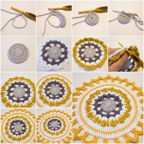 How to Make Handmade Crochet Mandala