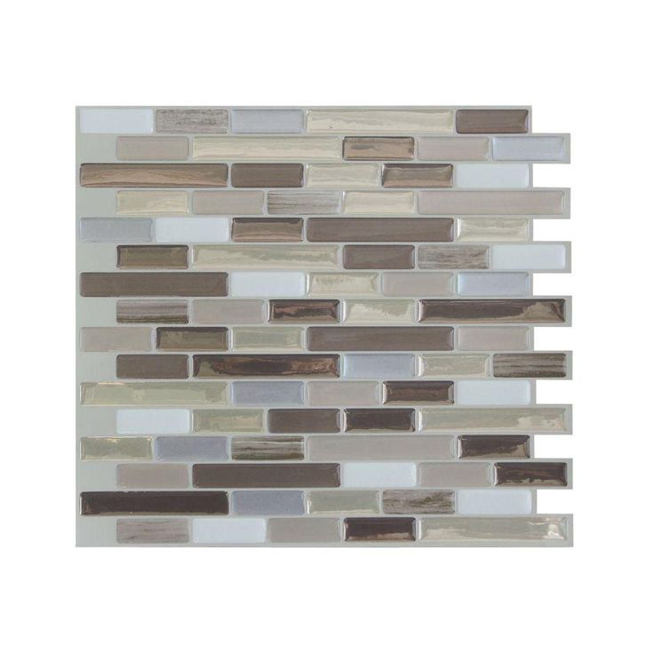 Smart Tiles In X In Peel And Stick Muretto