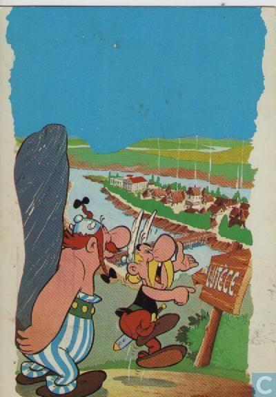 Carte postale - Bande dessinée: Asterix - Asterix & Obelix #FranceFR #Rendezvousenfrance #Astérix