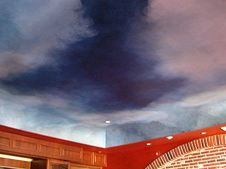 17 best images about ceilings night sky on pinterest for Ceiling mural sky