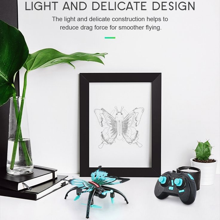 JJRC H42WH Butterfly Selfie Drone WIFI FPV RC Quadcopter - Sales Online - Tomtop.com