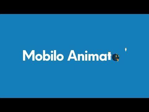 Mobilo Bold Animated Typeface Promo - YouTube