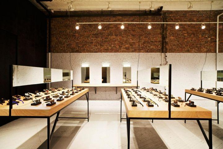 EYEWEAR STORES! Retrosuperfuture® eyewear store, New York City eyewear store design