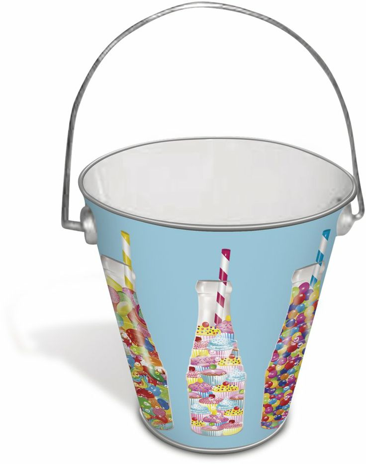 Christopher Vine Design Soda Pops Tin Pail