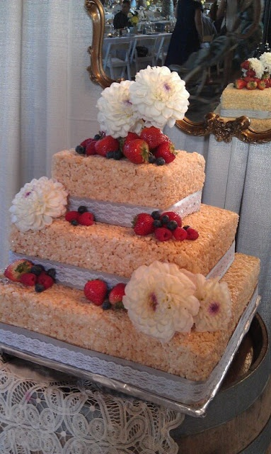 rice krispie wedding cake ideas 17 best images about rice crispy wedding cakes on 19221
