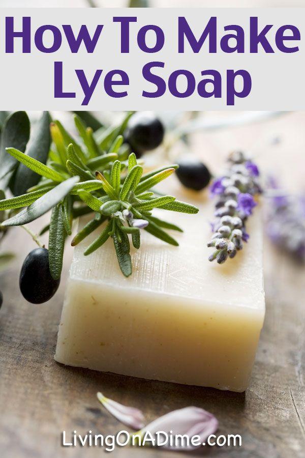 A simple lard & lye recipe for cold-process soap