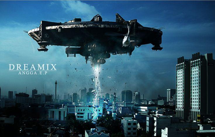 UFO Menyerang Jakarta