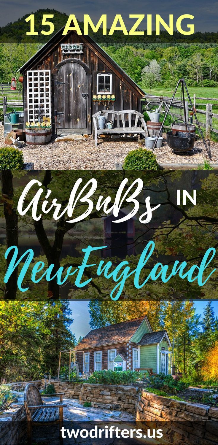 These are some of the coolest New England AirBnb properties! From treehouses to beach houses, there are some amazing properties to choose from for New England vacation rentals. Here's 15 you should book NOW.