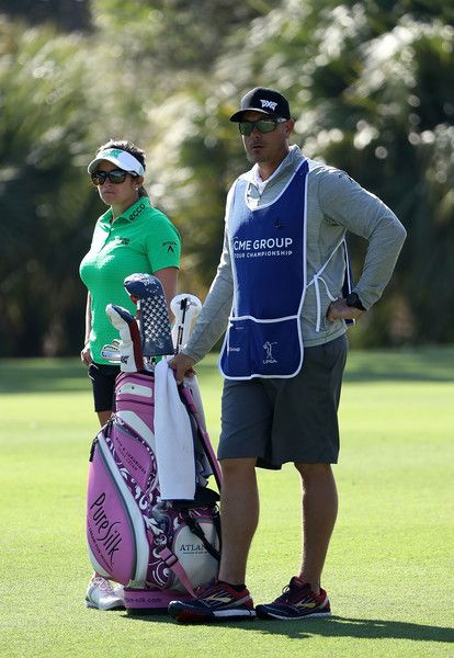Gerina Piller Photos Photos - Gerina Piller waits to play her shot on the second hole during the first round of the CME Group Tour Championship at Tiburon Golf Club on November 17, 2016 in Naples, Florida. - CME Group Tour Championship - Round One